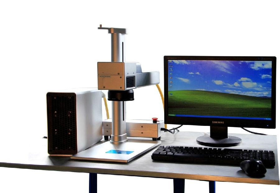 Fiber - optical laser marking machine precise laser marking machine